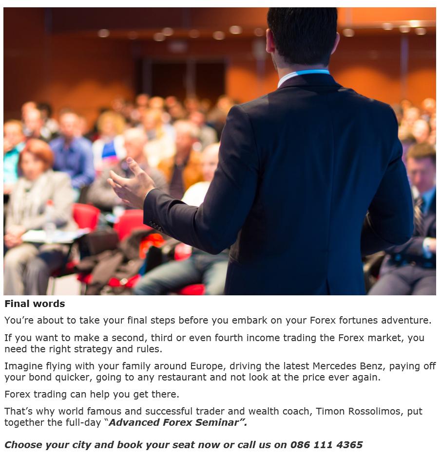 Fsp invest forex seminar