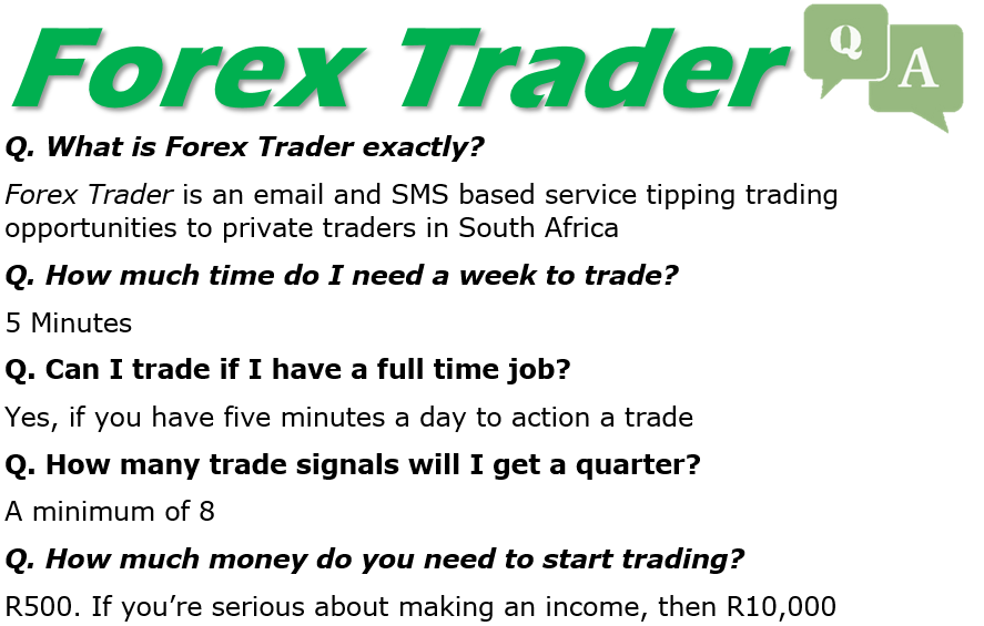 Forex trading as a job