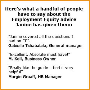 Employment Equity Act Compliance Toolkit testimonials