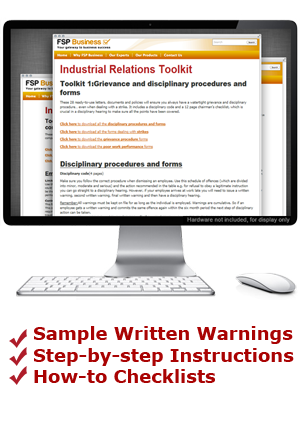 The Complete Grievance and Disciplinary Procedures and Forms Toolkit
