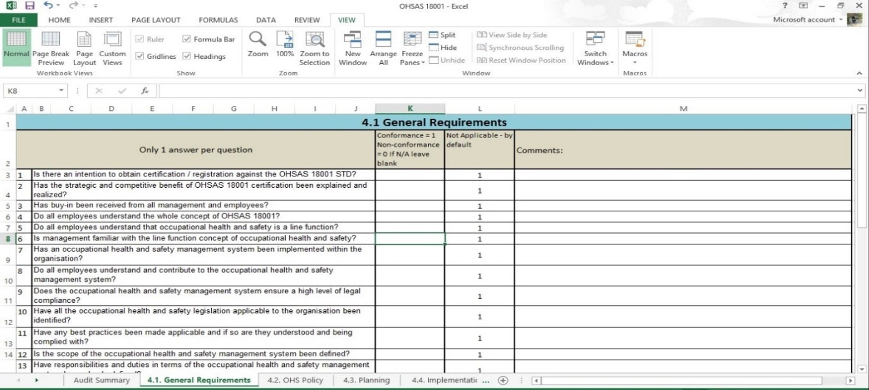 Safety Audit Report Template. how to write a police report ...