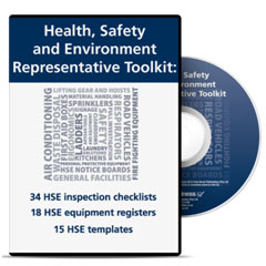 Hse rep toolkit cd not only does it contain all 67 of the hse documents you need to do your job right every one is 100 legally compliant with all of sas safety laws not pronofoot35fo Images